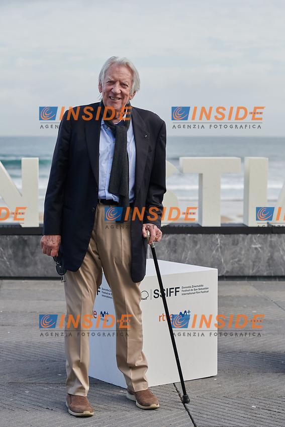 Donald Shatherland attent the Photocall of 'The Burnt orange heresy ' during the 67th San Sebastian Donostia International Film Festival - Zinemaldia.September 26,2019.(ALTERPHOTOS/Yurena Paniagua)<br /> Photo Alterphotos / Insidefoto <br /> ITALY ONLY