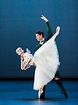 English National Ballet. Emerging Dancer competition. Madison Keesler and Guilherme Menezes. La Sylphide pas de deux<br /> Choreography: August Bournonville<br /> Music Herman L&oslash;venskoid<br /> Mentored by: Barry Drummond and Senri Kou