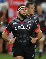 DURBAN, SOUTH AFRICA - MAY 27: Thomas du Toit of the Cell C Sharks during the Super Rugby match between Cell C Sharks and DHL Stormers at Growthpoint Kings Park on May 27, 2017 in Durban, South Africa. Photo by Steve Haag / stevehaagsports.com