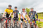Stephen Reidy, JJ Fitzgerald, Gearoid Costello and Mike Kissane at the Tralee Manor West GP on Sunday
