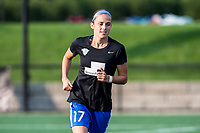 Boston, MA - Sunday September 10, 2017: Amanda Frisbie during a regular season National Women's Soccer League (NWSL) match between the Boston Breakers and Portland Thorns FC at Jordan Field.