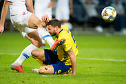 SOLNA, SWEDEN - OCTOBER 16: Marcus Berg of Sweden during the UEFA International Friendly match between Sweden and Slovakia at Friends Arena on October 16, 2018 in Solna, Sweden. Photo by David Lidstrom/LP<br /> ***BETALBILD***