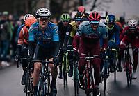 Michael Goolaerts (BEL/Willems Veranda's-Crelan) up front<br /> <br /> 102nd Ronde van Vlaanderen 2018 (1.UWT)<br /> Antwerpen - Oudenaarde (BEL): 265km