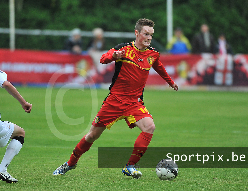 Georgia U19 - Belgium U19 : Rob Schoofs<br /> foto DAVID CATRY / Nikonpro.be