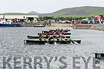 The start of the U12 race at the Dingle regatta on Saturday.