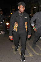 John Boyega is pictured arriving at Annabels Club for Drake's Scorpion Release Party in London.<br />