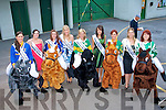 A ROSE AFFAIR: Some of this year's Rose of Tralee contestants at the Rose of Tralee Festival and Jigsaw fundraiser at the Kingdom Greyhound Stadium on Saturday l-r: Tipperary Rose Linda Kelly, Laois Rose Bernadette Ryan, Belfast Rose Frances Rafferty, Kerry Rose Veronica Hunt, Down Rose Gemma Murphy, Carlow Rose Jessica Adamson, Leitrim Rose Martha Gilheaney, Cork Rose Laura Mitchell and Dublin Rose Niamh Sherlock.
