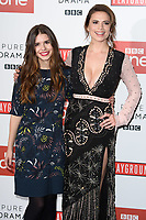 Philippa Coulthard &amp; Hayley Atwell at the &quot;Howard's End&quot; screening held at the BFI NFT South Bank, London, UK. <br /> 01 November  2017<br /> Picture: Steve Vas/Featureflash/SilverHub 0208 004 5359 sales@silverhubmedia.com