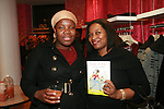 Author Nadege Fleurimond and guest attend an exclusive elegant evening of fashion and design through Shop for a Cause highlighting art and fashion from local emerging Haitian artisans Hosted by Designer, Tracy Reese, JRT Multimedia, CEO Jocelyn Taylor and BACARDI USA at the Tracy Reese Flagship Store 1/26/11<br />