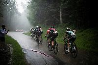torrential rain hitting Stage 7: Saint-Genix-les-Villages to Pipay  (133km)<br /> 71st Critérium du Dauphiné 2019 (2.UWT)<br /> <br /> ©kramon