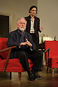 London, UK. 02.10.2015. THE FATHER, written by Florian Zeller, in a new translation by Christopher Hampton, opens at Wyndham's Theatre. Directed by James Macdonald, with lighting design by Guy Hoare, and set and costume design by Miriam Buether. Picture shows: Kenneth Cranham (Andre), Rebecca Charles (Woman). Photograph © Jane Hobson.