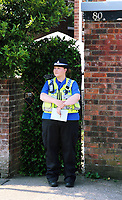 Tuesday 20 June 2017<br /> Pictured: Police outside the house in the Pentwyn area of  Cardiff, Wales, UK<br /> Re: The man who drove the vehicle which drove into worshippers near a north London mosque has been named as Darren Osborne from Cardiff, South Wales