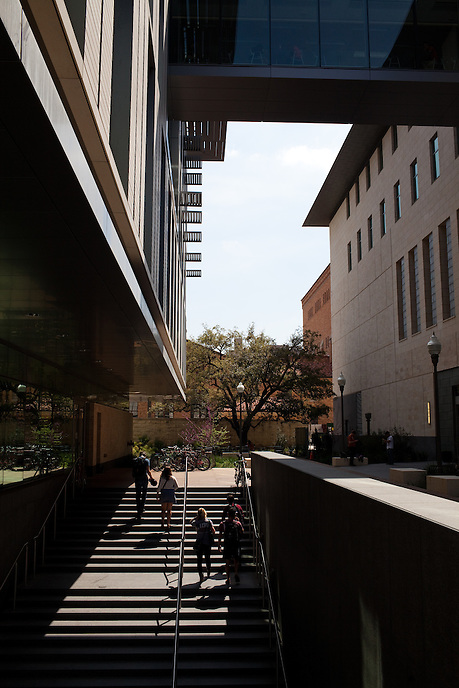 University of Texas Liberal Arts Building. March 19, 2013. CREDIT: Lance Rosenfield/Prime