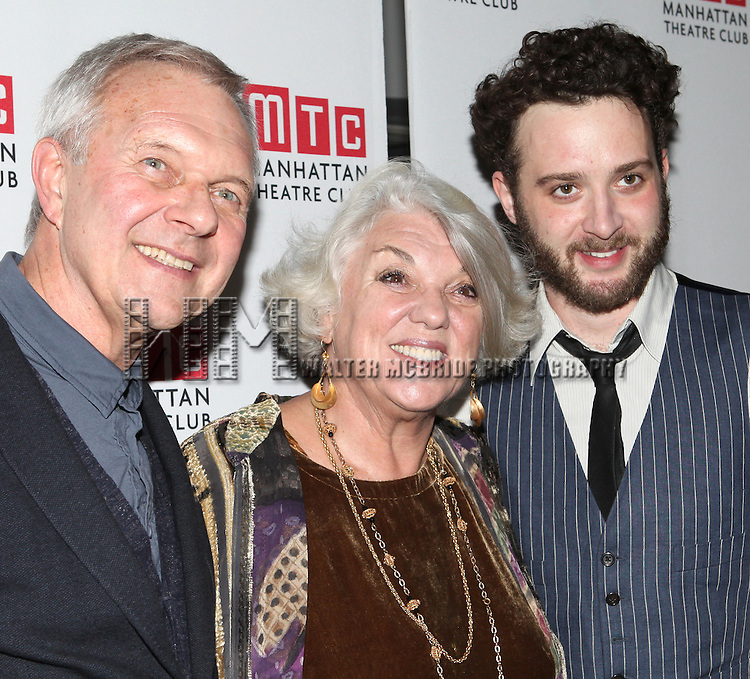 Walter Bobbie, Tyne Daly & Eddie Kaye Thomas attending the Opening Night Party for the Manhattan Theatre Club's 'Golden Age' at Beacon Restaurant in New York City on December 4, 2012.