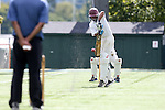 The NC State Cricket Club Wolfpack played the Gladiators Cricket Club in a Triangle Cricket League 2013 Premier League Division B 35 Overs match. October 6, 2013 on Hooker Field on the campus of the University of North Carolina in Chapel Hill, North Carolina. Gladiators 180 for 9 and Wolfpack 151 all out in 33.1 overs.