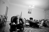 Baku, Azerbaijan<br /> December 14, 2006<br /> <br /> Azeri Foreign Minister Elmar Mammadyarov in his office.