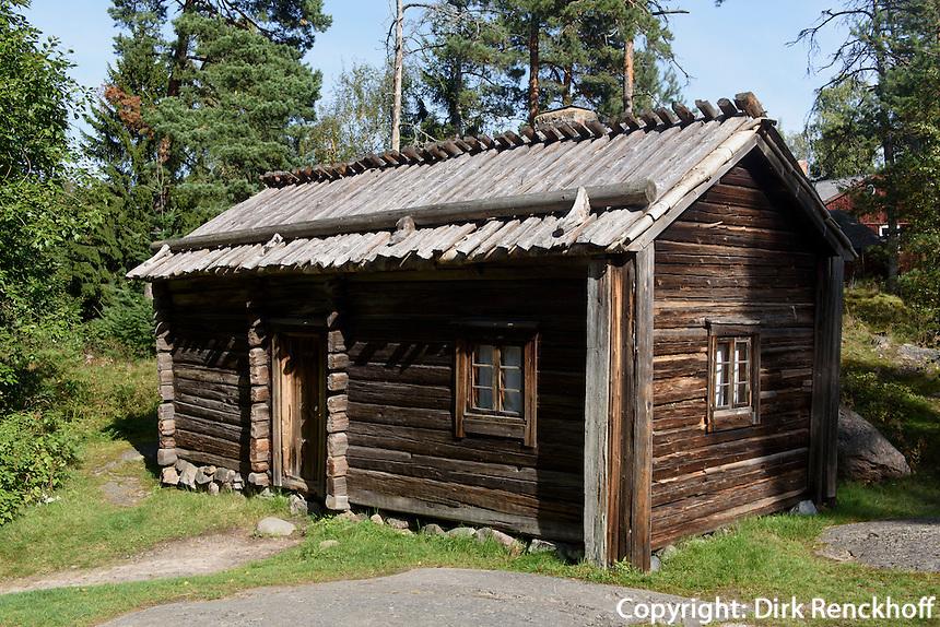 Freilichtmuseum auf der Insel Seurasaari, Helsinki, Finnland