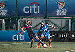 Citi All Stars vs Singapore Cricket Club Tigers during the HKFC Citi Soccer Sevens on 20 May 2016 in the Hong Kong Footbal Club, Hong Kong, China. Photo by Li Man Yuen / Power Sport Images