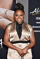 WESTWOOD, CA - FEBRUARY 05: Idara Victor attends the Premiere Of 20th Century Fox's 'Alita: Battle Angel' at Westwood Regency Theater on February 05, 2019 in Los Angeles, California.<br /> CAP/ROT/TM<br /> &copy;TM/ROT/Capital Pictures