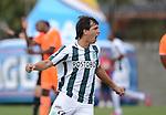 Los presentes en el Parque Estadio Sur, de Envigado, vieron caer al equipo 'naranja' 1 - 2 ante Atlético Nacional en juego de la cuarta fecha del Apertura 2015.