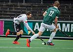 AMSTELVEEN - Nicky Leijs (Adam)   tijdens de hoofdklasse competitiewedstrijd heren, AMSTERDAM-ROTTERDAM (2-2). . COPYRIGHT KOEN SUYK