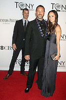 Trey Parker, Matt Stone and Emma Sugiyama at the 66th Annual Tony Awards at The Beacon Theatre on June 10, 2012 in New York City. Credit: RW/MediaPunch Inc.