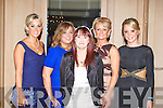 MITCHELS: Having a great time at the John Mitchels GAA annual dinner at the Ballygarry House hotel and Spa on Friday l-r: Noelle Cregan, Lyndsey Moriarty, Tanya O'Connor, Erin O'Carroll and Clodagh Higgins.