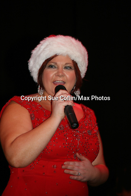 Kathy Brier - The Divas of Daytime TV performed a Christmas Show on December 5, 2009 at the Broadway Theatre in Pitman, New Jersey. (Photos by Sue Coflin/Max Photos)