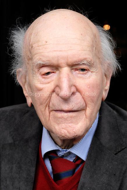 Hans Keilson, German/Dutch writer.