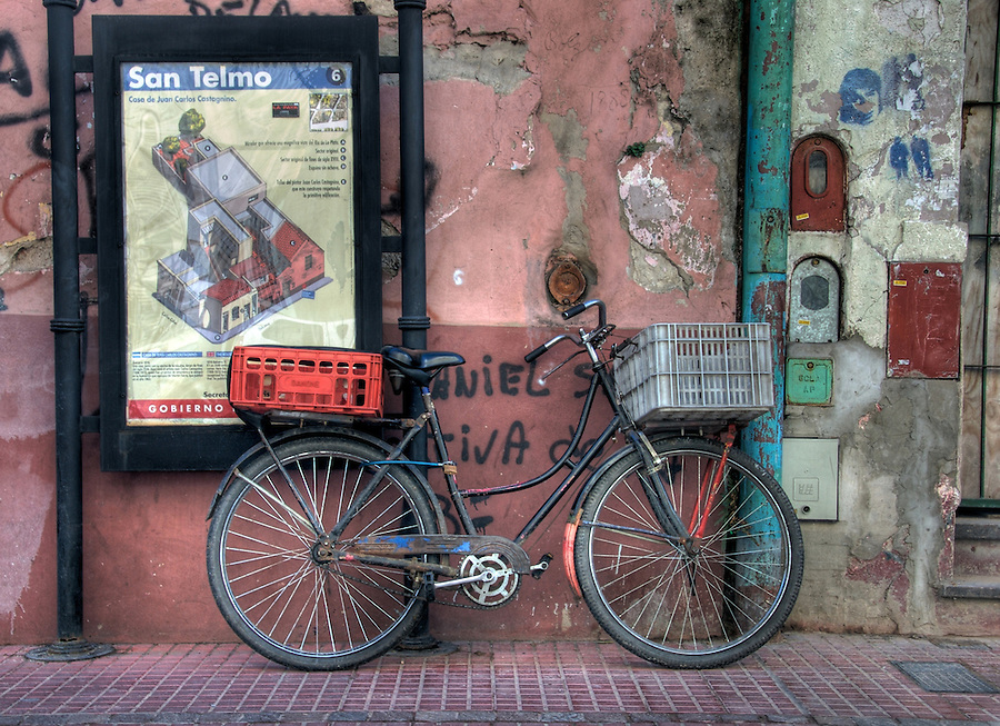 Bicycle in San Telmo