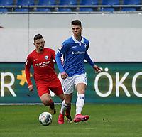 Mathias Honsak (SV Darmstadt 98) - 07.03.2020: SV Darmstadt 98 vs. VfL Bochum, Stadion am Boellenfalltor, 2. Bundesliga<br /> <br /> DISCLAIMER: <br /> DFL regulations prohibit any use of photographs as image sequences and/or quasi-video.