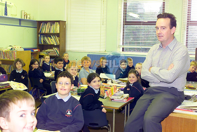 Liam Burke new Principle in white cross National School in Julianstown..Picture Fran Caffrey Newsfile...This Picture is sent to you by:..Newsfile Ltd.The View, Millmount Abbey, Drogheda, Co Louth, Ireland..Tel: +353419871240.Fax: +353419871260.GSM: +353862500958.ISDN: +353419871010.email: pictures@newsfile.ie.www.newsfile.ie