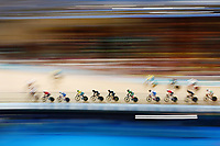 Tom Sexton of New Zealand competes in the Men's 40km Points Race Final. Gold Coast 2018 Commonwealth Games, Track Cycling, Anna Meares Velodrome, Brisbane, Australia. 8 April 2018 © Copyright Photo: Anthony Au-Yeung / www.photosport.nz /SWpix.com