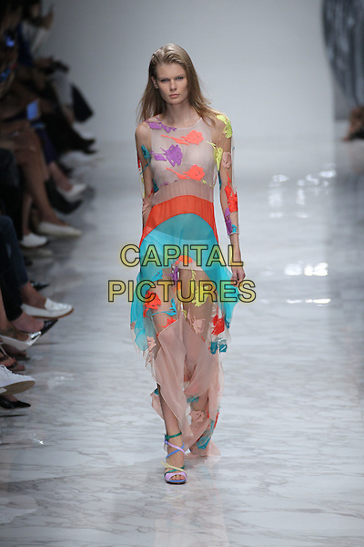 BLUMARINE<br /> Milan Fashion Week, Ready to Wear,Spring Summer 2016, Milan, Italy September 25, 2015.<br /> CAP/GOL<br /> &copy;GOL/Capital Pictures