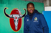 Blackburn Rovers' Ryan Nyambe pictured before the match<br /> <br /> Photographer Andrew Kearns/CameraSport<br /> <br /> The EFL Sky Bet Championship - Reading v Blackburn Rovers - Wednesday 13th February 2019 - Madejski Stadium - Reading<br /> <br /> World Copyright © 2019 CameraSport. All rights reserved. 43 Linden Ave. Countesthorpe. Leicester. England. LE8 5PG - Tel: +44 (0) 116 277 4147 - admin@camerasport.com - www.camerasport.com