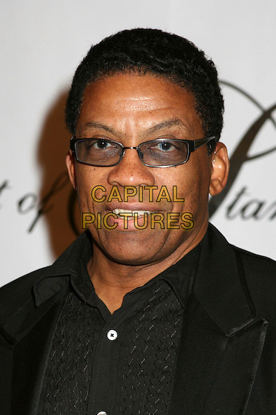 "HERBIE HANCOCK.17th Annual ""Night of 100 Stars"" Oscar Gala at the Beverly Hills Hotel, Beverly Hills, California, USA..February 25th, 2007.headshot portrait tinted glasses.CAP/ADM/BP.©Byron Purvis/AdMedia/Capital Pictures"