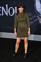 LOS ANGELES, CA. October 01, 2018: Moniqua Plante at the world premiere for &quot;Venom&quot; at the Regency Village Theatre.<br /> Picture: Paul Smith/Featureflash