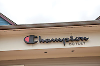 A Champion Outlet store is pictured at the Settlers' Green Outlet Village in North Conway, New Hampshire Thursday June 13, 2013.