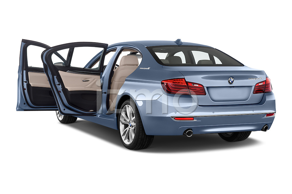Car images of a 2015 BMW SERIES 5 ActiveHybrid 5 Luxury 4 Door Sedan Doors