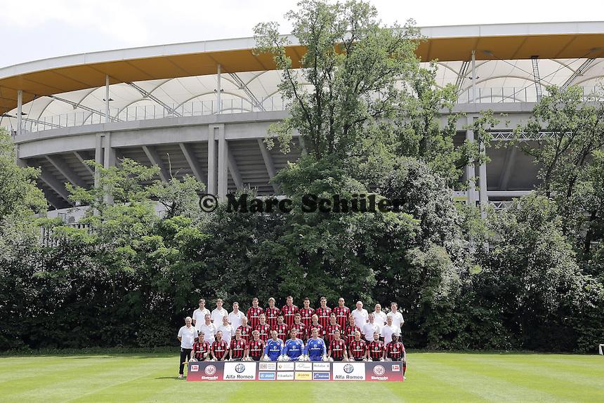 Eintracht Frankfurt Mannschaftsfoto 2013/14