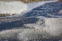 Europe/France/Pays de la Loire/44/Loire Atlantique/Guérande: Les marais salants de Guérande  - Récolte du Sel - AUTO N°: 2012-428 //<br />  France, Loire Atlantique, Guerande, Salt marshes of Guerande
