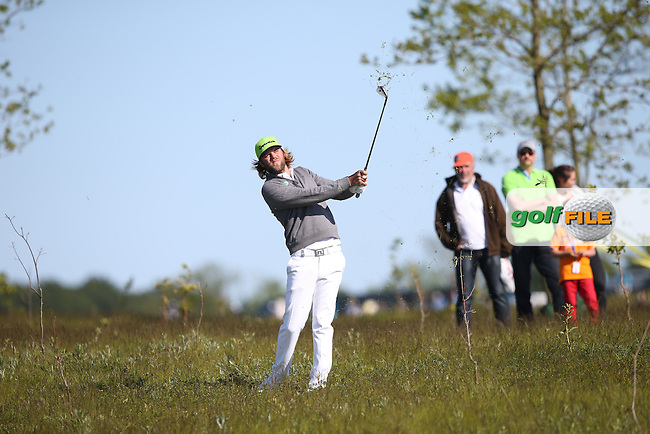 Johan Carlsson (SWE)  plays out of the rough during Round Two of the 2015 Nordea Masters at the PGA Sweden National, Bara, Malmo, Sweden. 05/06/2015. Picture David Lloyd | www.golffile.ie