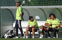 (izq a decha)jose mourinho, aitor karanka, silvino louro ,rui faria