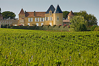 Chateau d'Yquem, Sauternes, France constructed in 15th century with later additions.
