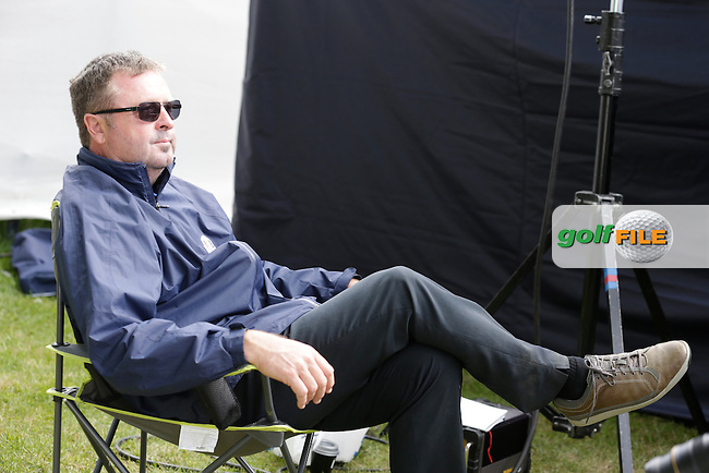 Wayne Reilly (Radar) during round 2 of the 2015 BMW PGA Championship over the West Course at Wentworth, Virgina Water, London. 22/05/2015<br /> Picture Fran Caffrey, www.golffile.ie: