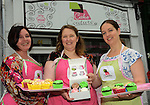 Cake Couture - (from left) Jo-Anne Roberts, Aoife Collins and Emma Hughes.