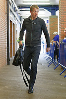 Swansea City manager Graham Potter arrives prior to the game during the Sky Bet Championship match between Sheffield Wednesday and Swansea City at Hillsborough Stadium, Sheffield, England, UK. Saturday 23 February 2019