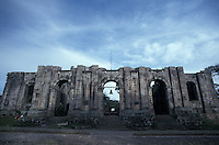 Las Ruinas, a ruined 18th-century church in Cartago, Costa Rica