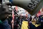 Migranti, diritti senza confini, manifestazione a Roma