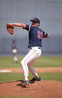 Boston Red Sox Roger Clemens (21) during spring training circa 1992 at Chain of Lakes Park in Winter Haven, Florida.  (MJA/Four Seam Images)
